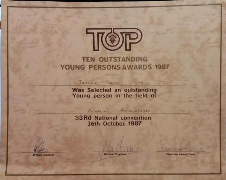 TOYP Certificate small